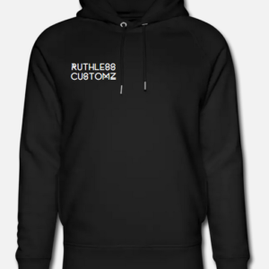 Ruthless Customz hoodie black